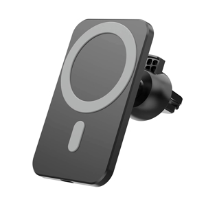 Slika od Auto punjac bezicni (WiFi) Magnetic connection (Magsafe) crni