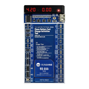 Slika od Tester baterija I aktivator SUNSHINE SS-915 za Iphone/Samsung