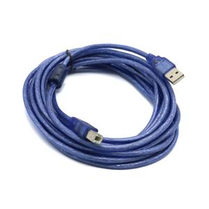 Slika od USB 2.0 kabal produzni A/M na B/M 5m plavi