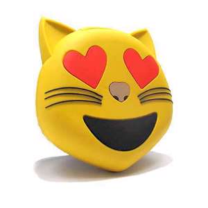 Slika od Power Bank EMOJI 2200mAh cat zuti
