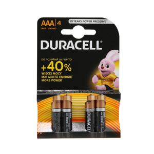 Slika od Baterija alkalna 1.5V AAA LR3 blister 4/1 Duracell