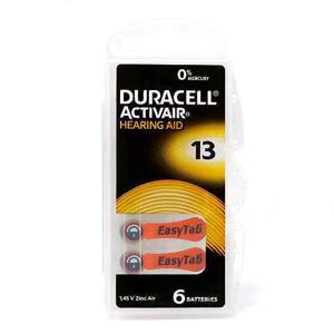 Slika od Baterija za slusni aparat Zinc Air dugmasta 1.45V ZA13 kutija 6/1 Duracell