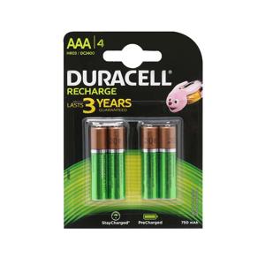 Slika od Baterija NiMh punjiva 1.2V 750mAh AAA HR03 blister 4/1 Duracell