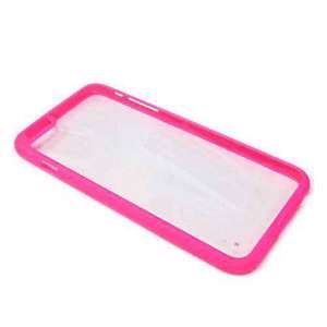 Slika od Bumper TRANSPARENT BACK za Iphone 6G PLUS roze