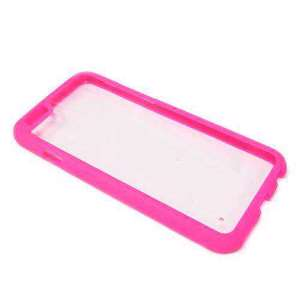 Slika od Bumper TRANSPARENT BACK za Iphone 6G/6S roze