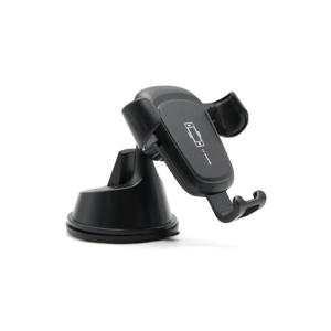 Slika od Drzac za mobilni telefon Gravity 8805 2u1 crni (vakum i ventilacija)