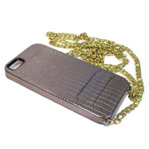 Slika od Futrola PURO GLAM CHAIN za Iphone 5G/5S/SE bronzana model 3