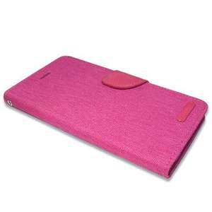 Slika od Futrola BI FOLD MERCURY Canvas za Iphone 6 Plus pink