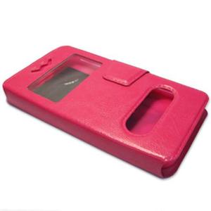 Slika od Futrola FLIP silikonska univerzalna XL (4.6-5.0in) pink