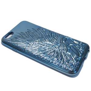 Slika od Futrola silikon ANGEL za Iphone 6G/6S metalic plava