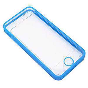 Slika od Futrola TRANSPARENT za Iphone 5G/5S/SE plava