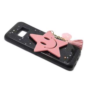 Slika od Futrola SMILEY STAR za Samsung G950F Galaxy S8 roze