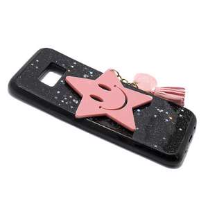Slika od Futrola SMILEY STAR za Samsung G955F Galaxy S8 Plus roze