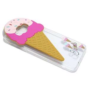Slika od Futrola PVC CLEAR za Samsung J710 Galaxy J7 2016 icecream