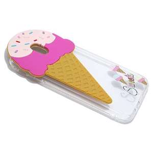 Slika od Futrola PVC CLEAR za Samsung J730F Galaxy J7 2017 (EU) icecream