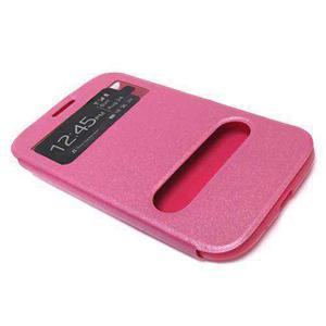 Slika od Futrola BI FOLD silikon za Samsung I9082/I9060 Galaxy Grand/Neo roze