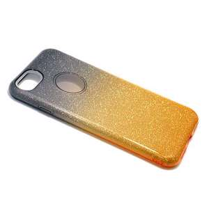 Slika od Futrola DOUBLE GLITTER za Iphone 7 crno/zlatna