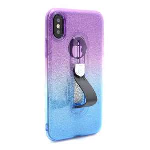 Slika od Futrola GLITTER FINGER RING za Iphone X DZ02