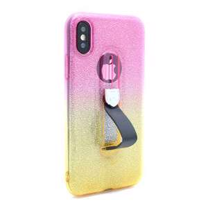 Slika od Futrola GLITTER FINGER RING za Iphone X DZ04