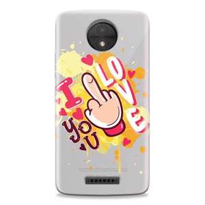 Slika od Futrola ULTRA TANKI PRINT CLEAR za Motorola Moto C Plus ND0051