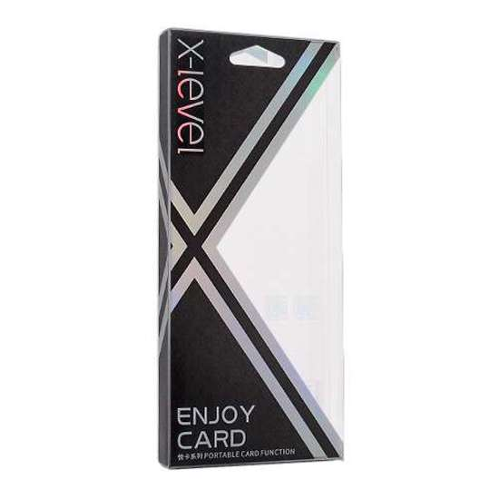 Slika od Futrola X-LEVEL Enjoy card za Iphone X teget