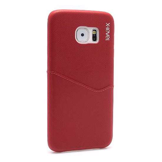 Slika od Futrola X-LEVEL Enjoy card za Samsung G935 Galaxy S7 Edge bordo
