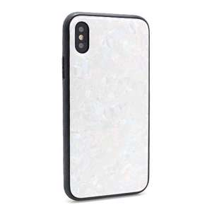 Slika od Futrola GLASS Crystal za Iphone X bela model 1