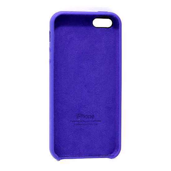 Slika od Futrola Silky and soft za Iphone 5G/5S/SE ljubicasta
