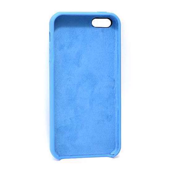 Slika od Futrola Silky and soft za Iphone 5G/5S/SE plava