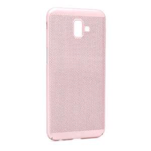 Slika od Futrola PVC BREATH za Samsung J610F Galaxy J6 Plus roze