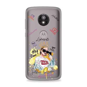 Slika od Futrola ULTRA TANKI PRINT CLEAR za Motorola Moto E5 Play (5.3in) ND0060