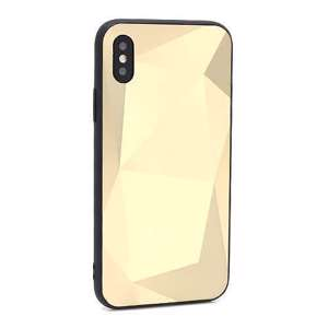 Slika od Futrola CRYSTAL za Iphone X/XS zlatna