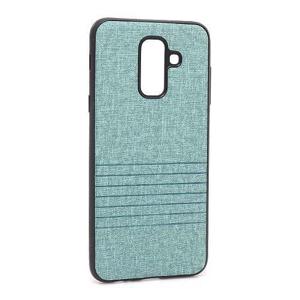 Slika od Futrola silikon Embossed za Samsung A605G Galaxy A6 Plus 2018 tirkizna