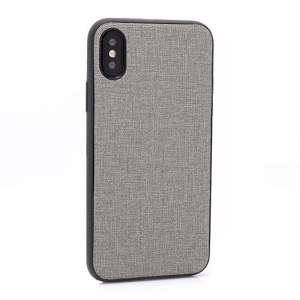 Slika od Futrola silikon CANVAS za Iphone X/XS siva