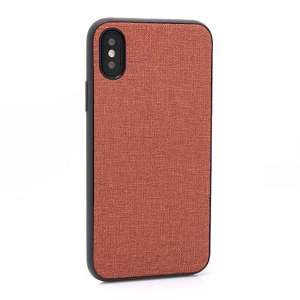 Slika od Futrola silikon CANVAS za Iphone X/XS braon