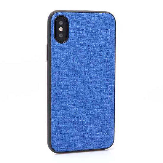 Slika od Futrola silikon CANVAS za Iphone X/XS plava