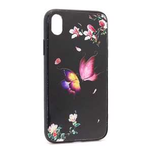 Slika od Futrola Butterfly za Iphone XR crna