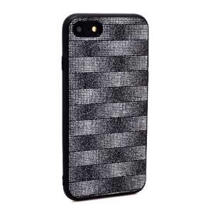 Slika od Futrola Glitter Plaid za Iphone 7/8 crna