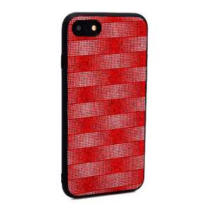 Slika od Futrola Glitter Plaid za Iphone 7/8 crvena