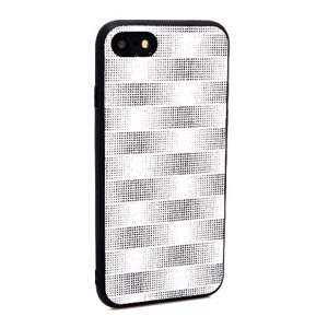 Slika od Futrola Glitter Plaid za Iphone 7/8 srebrna