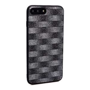 Slika od Futrola Glitter Plaid za Iphone 7 Plus/8 Plus crna