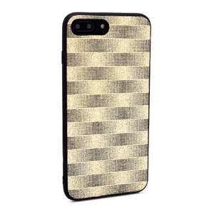 Slika od Futrola Glitter Plaid za Iphone 7 Plus/8 Plus zlatna