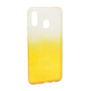 Slika od Futrola silikon Sparkly Diamond za Samsung A205F/A305F/M107F Galaxy A20/A30/M10s zlatna