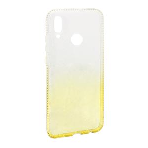 Slika od Futrola silikon Sparkly Diamond za Huawei P Smart 2019 zlatna