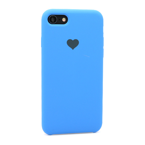Slika od Futrola Heart za Iphone 7/8 tamno plava