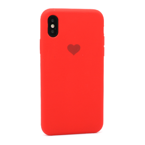 Slika od Futrola Heart za Iphone X/XS crvena