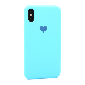 Slika od Futrola Heart za Iphone X/XS plava