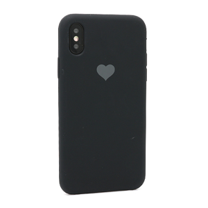 Slika od Futrola Heart za Iphone X/XS crna