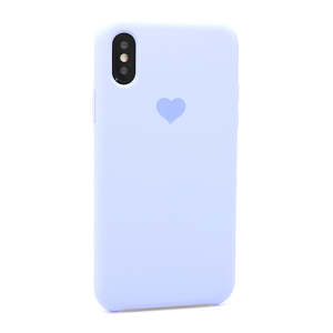 Slika od Futrola Heart za Iphone X/XS lila