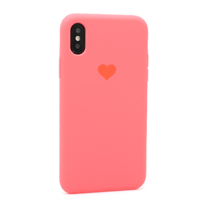 Slika od Futrola Heart za Iphone X/XS pink